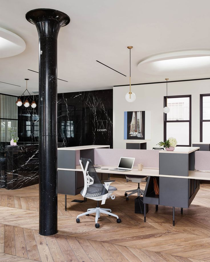 interior office space. boutique coworking office in san francisco by yves behar interior space