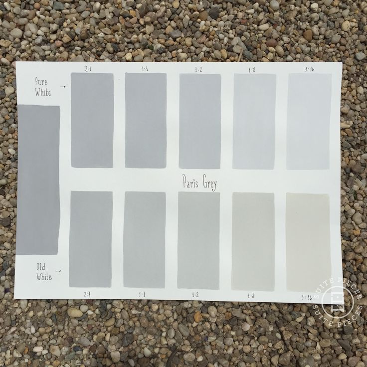 CP Tone Chart-Paris Grey