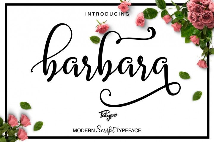 Barbara Script By fatype