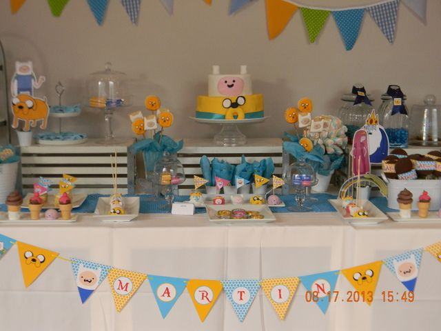 Adventure time Birthday Party Ideas