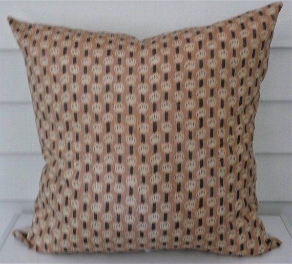 Antoinette In Pale Coral Pillow Cover Etsy Coral Pillows Pillows Etsy Pillow Covers