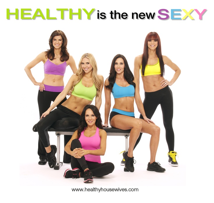"""The Healthy Housewives new spring ad campaign """"HEALTHY is the new SEXY!"""""""