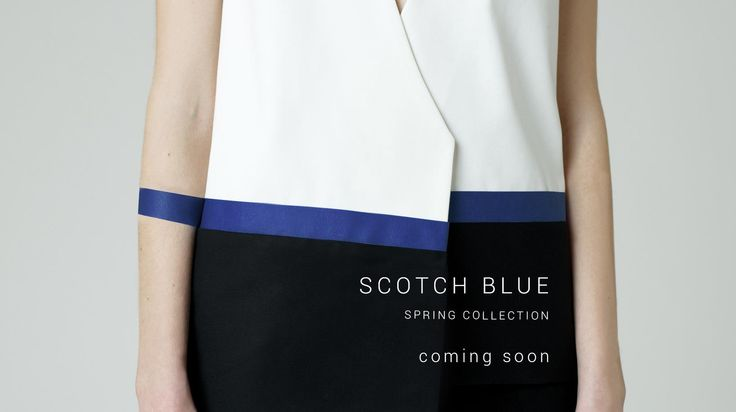 spring collection detail - A158 - SCOTCH BLUE