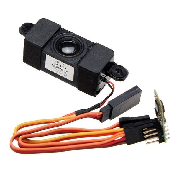 Programmable Sound Unit for Orlandoo F150 OH35P01 KIT Micro RC Crawlers             Description: This soundunit is developed specially for electric powered RC. It could be used to 1:35, 1/24 and 1/18 RC crawlers. Especially suitable for Orlandoo F150 OH35P01 KIT Assemble Climbing RC...