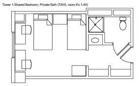Résultat de l'image pour le plan d'étage de la chambre d'étudiant