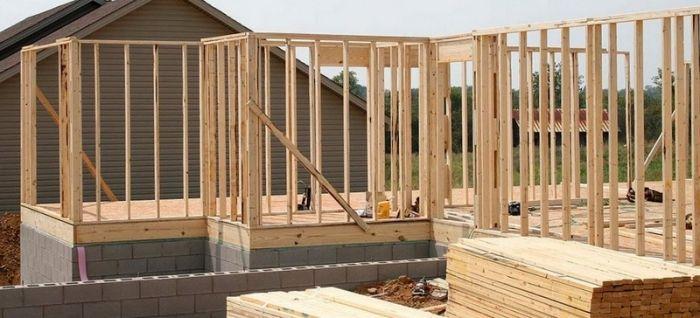 Rozestavěná stavba a materiál