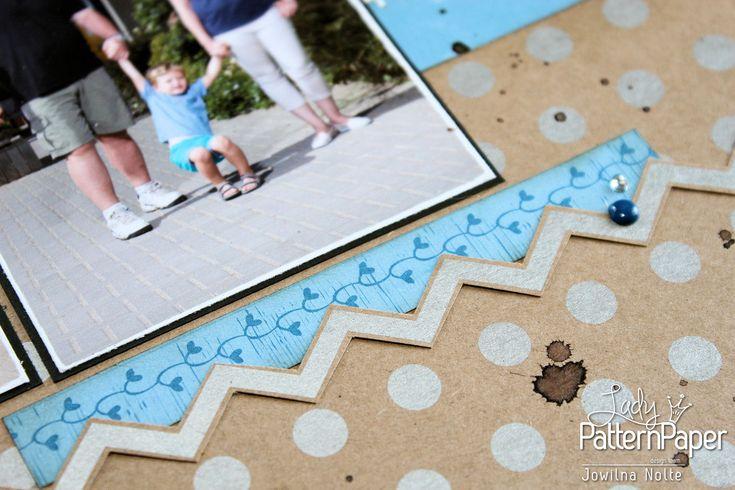 Summer Memories Layout - Barcode Strip