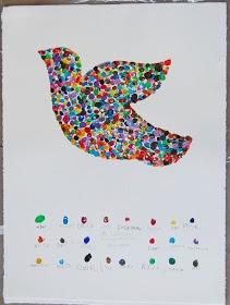 Beverly Cleary School Class ART Projects Auction 2009: MS. LA TOCHA'S KINDERGARTEN CLASS