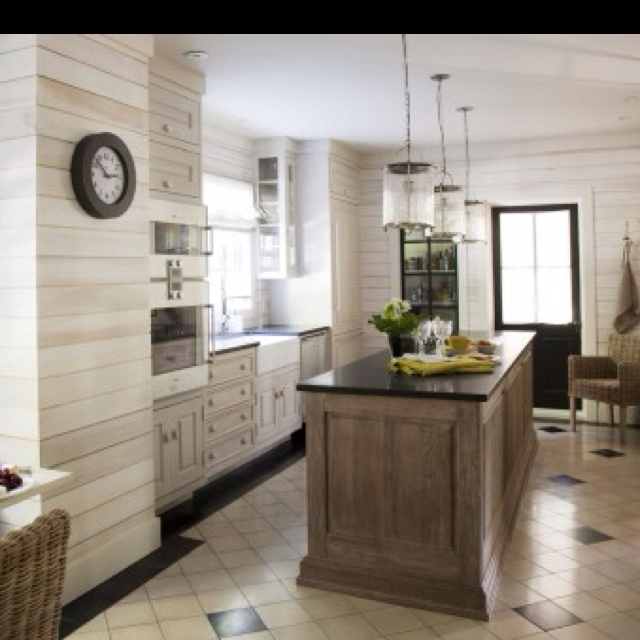 Organic Bleached Wood Kitchen