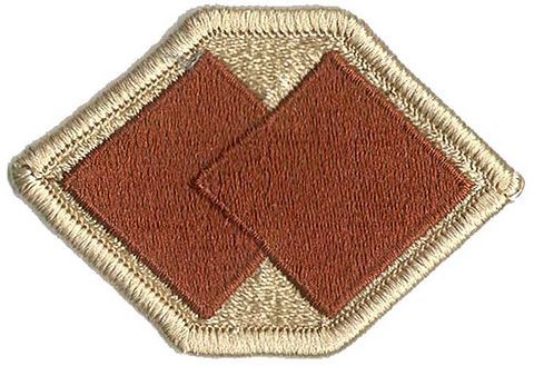 96th INFANTRY DIVISION, DESERT