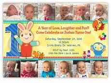 BabyFirstTV TV Favorites Birthday Party YEAR IN PHOTOS Invitation
