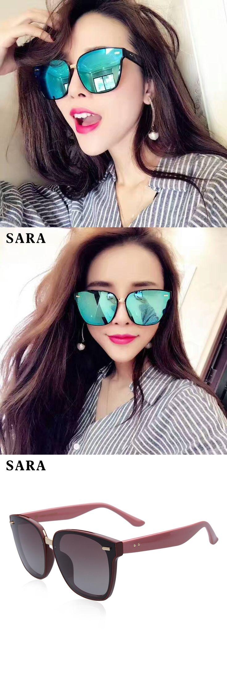 SARA New HD Polarized Sunglasses Women TR90 Aluminum Frame Sunglasses UV400 Driving Eyewear oculos Shades gafas de sol mujer 555