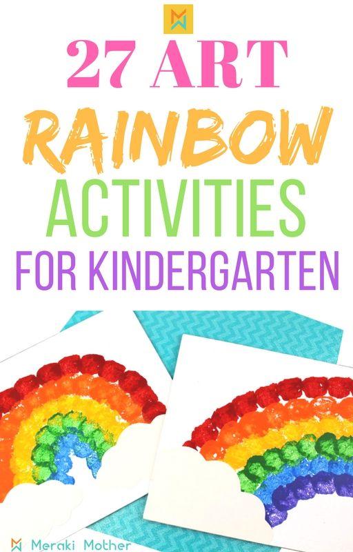 Rainbow Activities For Preschoolers Activities And Crafts For Kids