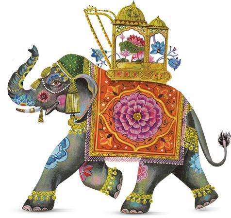 Image result for indian elephant art
