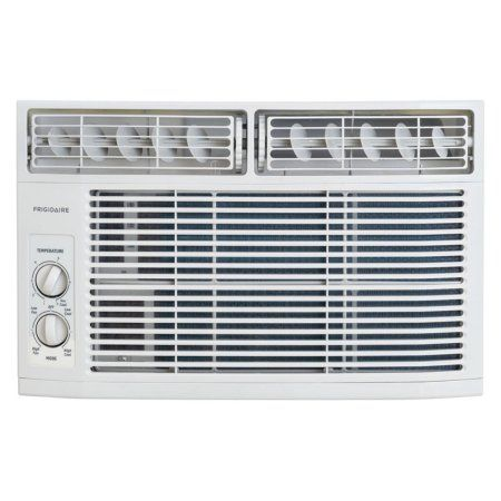 Frigidaire FFRA0611R1 6,000 BTU 115V Window-Mounted Mini-Compact Air Conditioner with Mechanical Controls, White