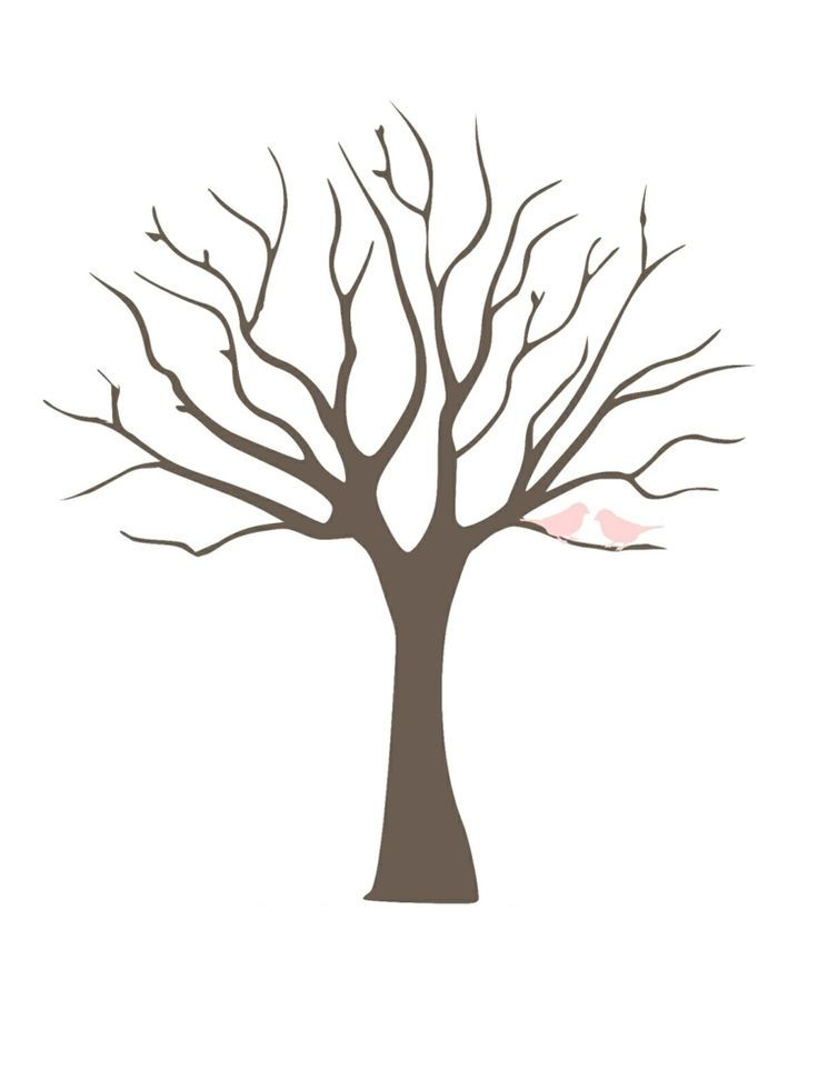 Fingerprint Tree Template Other Designs For Free Printing