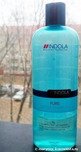 Очищающий шампунь Indola Innova Pure Detox Shampoo #hair