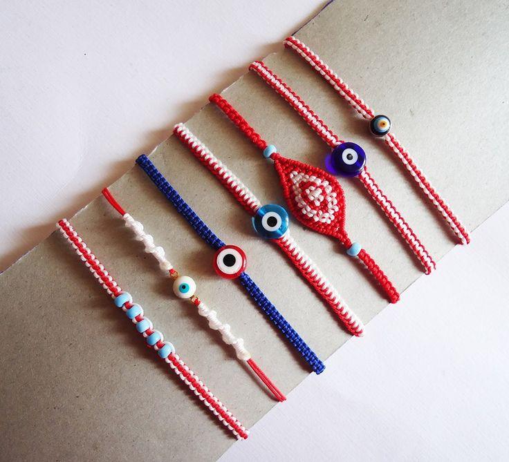 handmade march bracelet