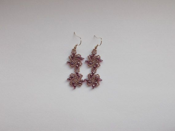 Check out this item in my Etsy shop https://www.etsy.com/listing/494411930/violet-earrings
