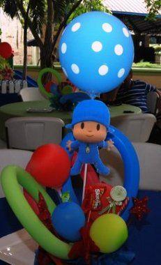 Ideas para organizar un cumplea os de pocoy blog de - Decoraciones para cumpleanos infantiles ...
