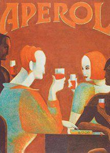 Millésime. Bières, Vins et Spiritueux » APEROL ORANGE » Sur Format A3 Papiers Brillants de 250g. Affiches de Reproduction