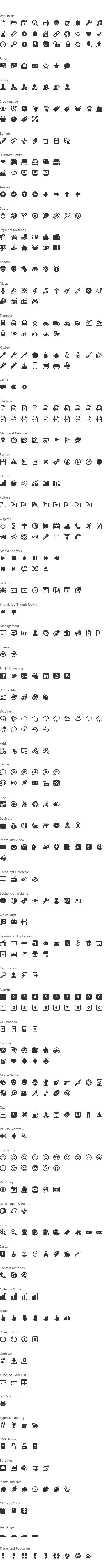 Icons every designer should know.    Free Download : 529 Icon Windows 8 Metro Style Pack