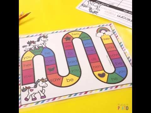 15 Word Work Games - Playdough To Plato