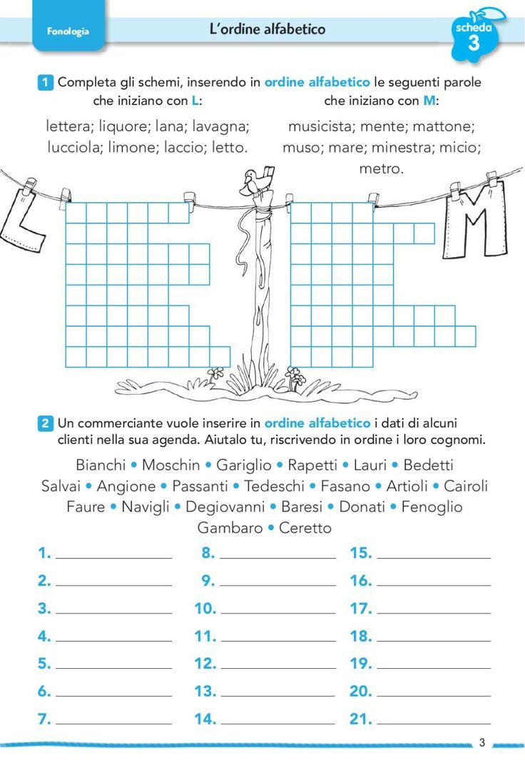 1 76, 77, 84, 85 Comprensione di fiabe, fa- vole, filastrocche e modi di dire 78, 79, 80, 81, Analisi, completamento e 82, 83 produzione di testi descrittivi e regolativi 1, 3, 4 L'ordine alfabetico 2 Lettere e parole straniere Indice 5, 6 I messaggi verbali Comunicazione Punteggiatura Morfologia Fonologia Ortografia Analisi testuale Sintassi