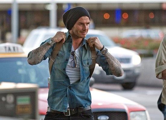 """He's always look good. """"David Beckham"""""""