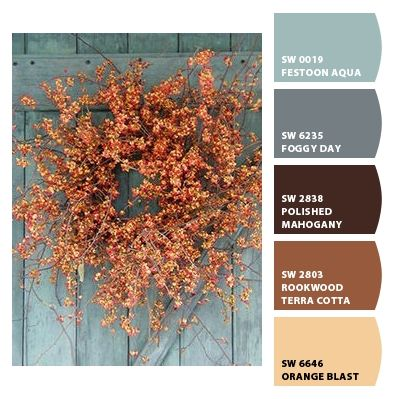 Fall paint color inspiration
