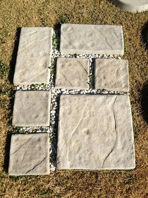 Flagstone paver in different sizes