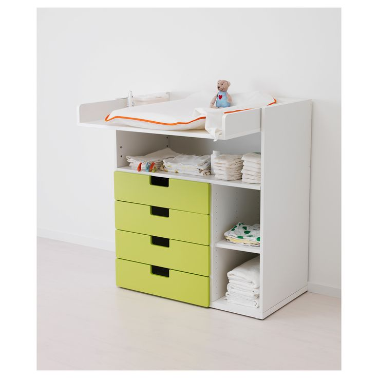 STUVA маса за повиване/бюро - IKEA