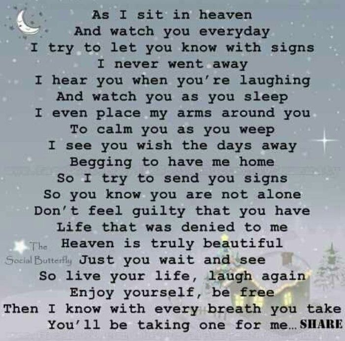 Heaven Quotes For Loved Ones: Loved One In Heaven.