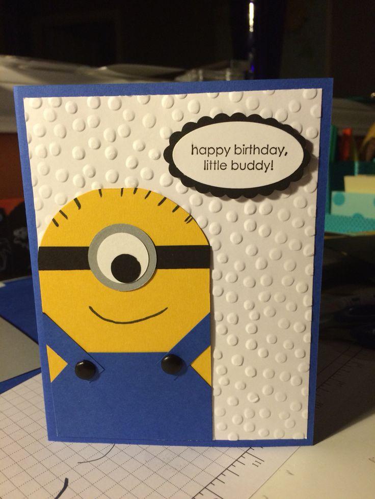 Открытки посвященные, миньон открытка с днем рождения своими