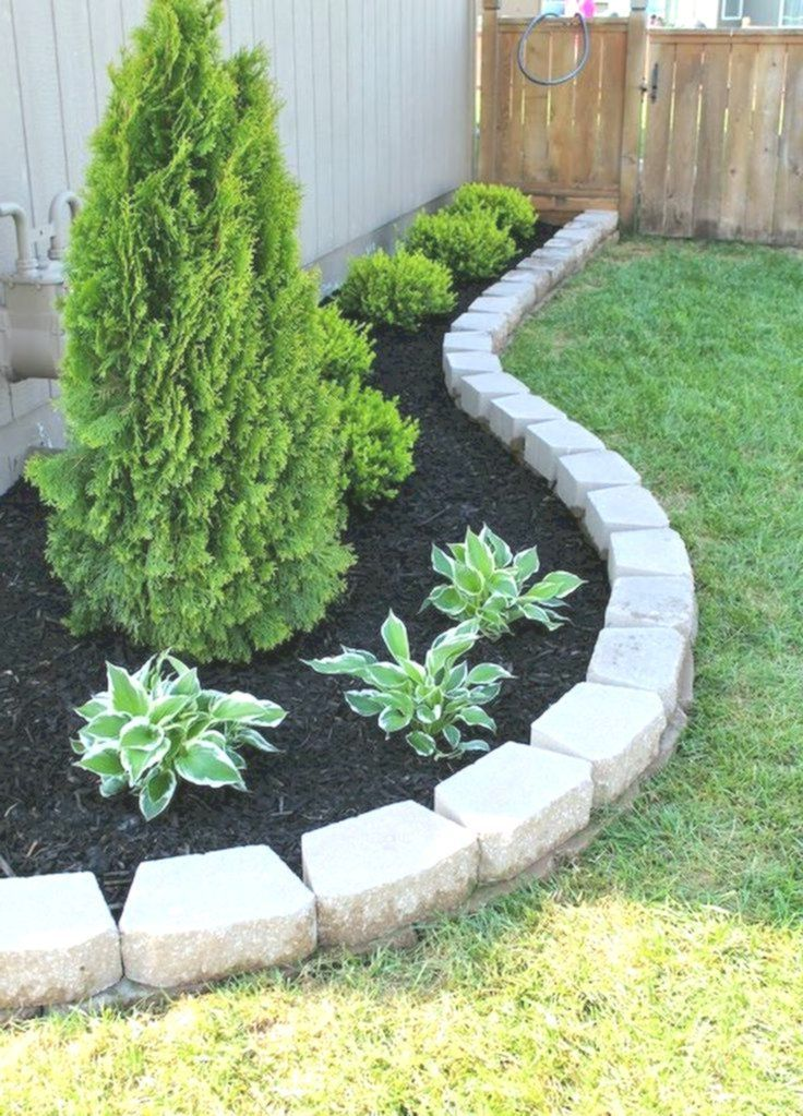 90 Simple And Beautiful Front Yard Landscaping Ideas On A Budget Beautiful Bu Front Garden Landscape Cheap Landscaping Ideas Front Yard Landscaping Design