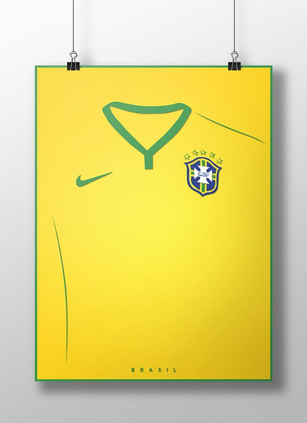 World Cup Jerseys Posters #Brasil #France #Nederlands #Holland #Portugal #Suisse #posterdesign #football #Soccer #Brasil2014 #poster #graphicdesign #artwork #digitalArt #PSD #Adobe #Illustrator #VisualArt