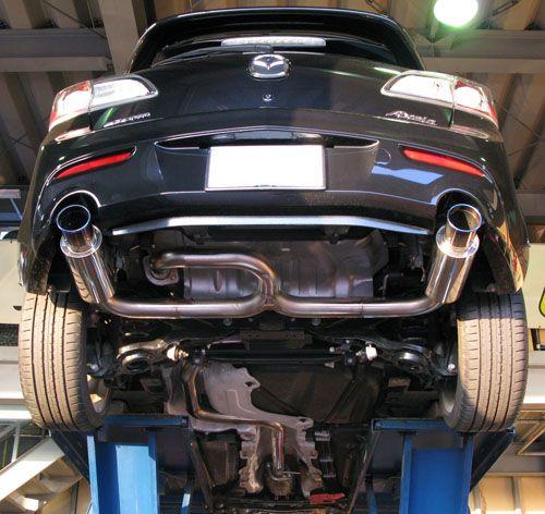 Custom Mazda 3 Exhaust