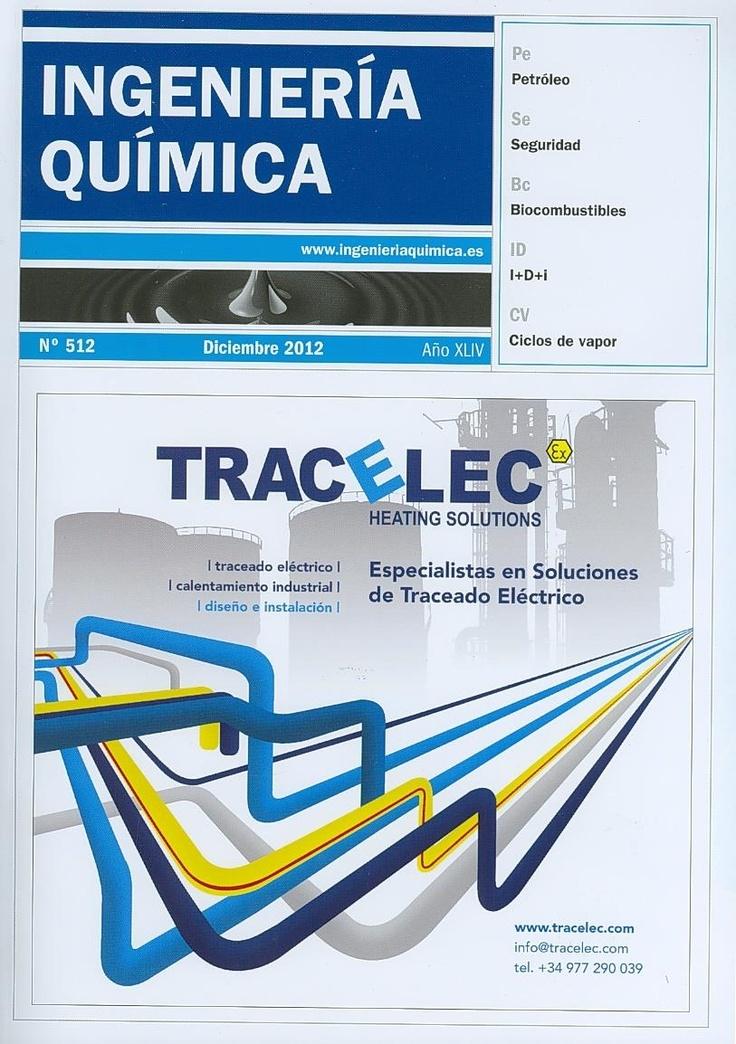 INGENIERÍA INDUSTRIAL (Ingeniería química: n° 512 - diciembre / 2012)