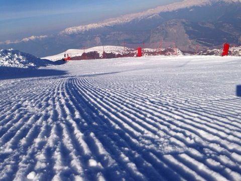 #trentinoskisunrise monte Bondone
