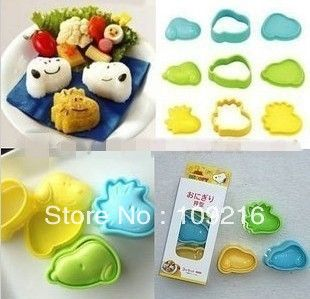 Aliexpress.com : Buy Free shipping!! 3pcs/set  New Style Snoopy DIY Sushi Mold, Rice  Vegetable Roll Mold,Egg Mold from Reliable Sushi Mold suppliers on Silicone DIY Mold and  Home Supplies Store $6.78