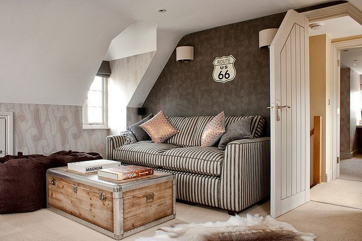 Coastal Holiday Home by Cotton Tree Interiors...  I would prefer that all of the walls be this Gorgeous Shade of BROWN!