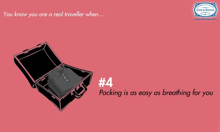 Are you a real traveller?