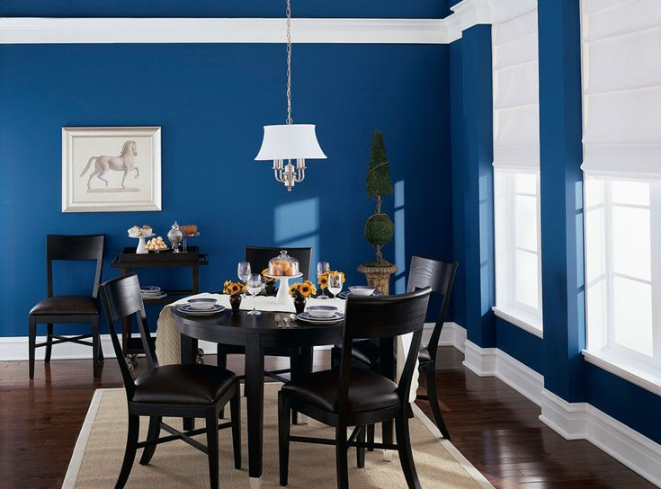 Blue Paint For Dining Room: 14 Best Festive Blues Images On Pinterest