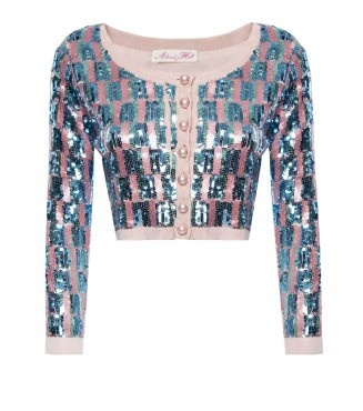 Alannah Hill shower me in bows cardigan