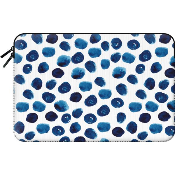 Macbook Sleeve - Mac laptop case perfect for trendy abstract design... ($60) ❤ liked on Polyvore featuring accessories, tech accessories, macbook sleeve, macbook pro laptop case, macbook laptop case and laptop sleeve cases