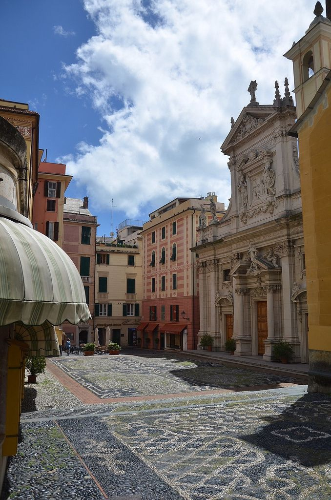 Piazza S.Ambrogio - Varazze, Liguria, Italy