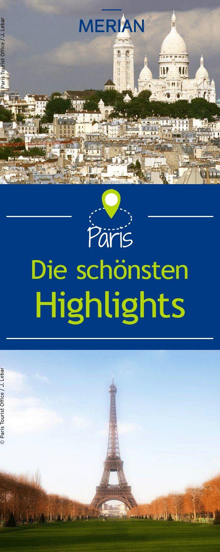 Wir zeigen euch die zehn schönsten Sehenswürdigkeiten in Paris.