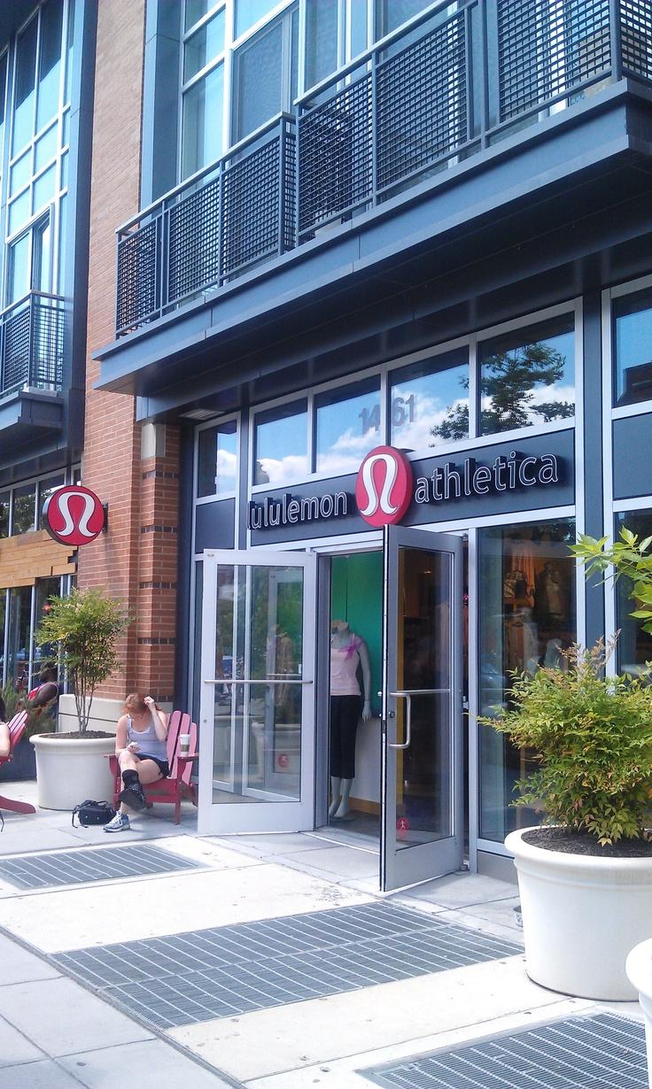 Lululemon store Washington DC, P street