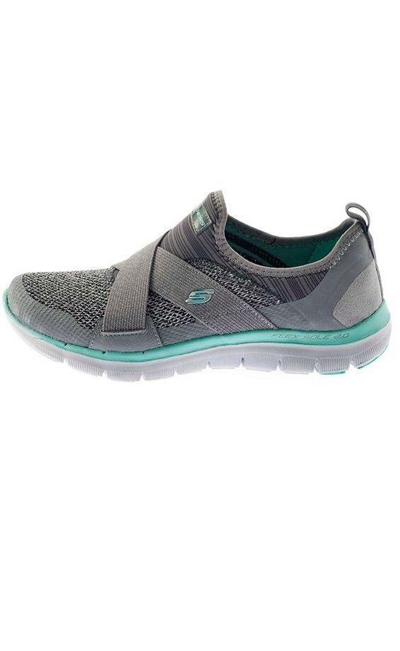 922e2c9fda67 SKECHERS Flex Appeal 2.0 Womens Gym Shoes Slip On Sneakers Size 8 Memory  Foam  74.99