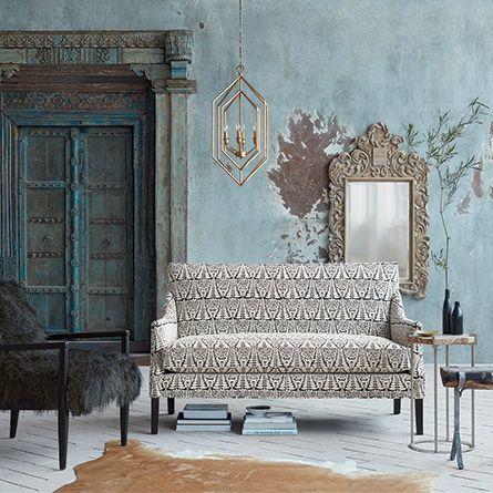 "Dori 61"" Upholstered Settee in Mattese Tuxedo    https://www.arhaus.com/furniture/living-room-furniture/sofas/dori-61-inch-upholstered-settee-in-mattese-tuxedo/"
